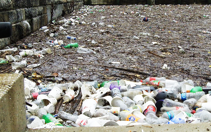 Waste like this should be stopped in the area it is created, not at the harbour